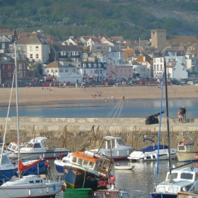 Enjoy the classic British seaside at Beer and Lyme Regis. With River Cottage on hand.