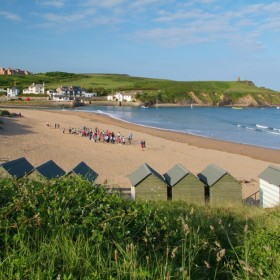 Wildflower meadows and beaches, surfing and cliff climbing on the Atlantic Coast