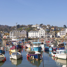 Autumn and Winter in Mevagissey