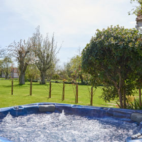 Pool, Hot Tub and Gardens