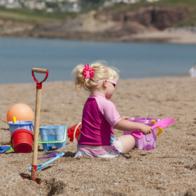 Go wild on the water and revisit your childhood on the beach