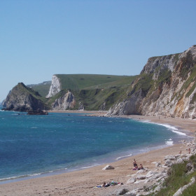 Castles and coves in deepest Dorset