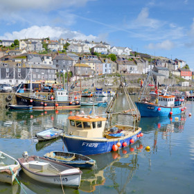 Enjoy a classic Cornish harbour