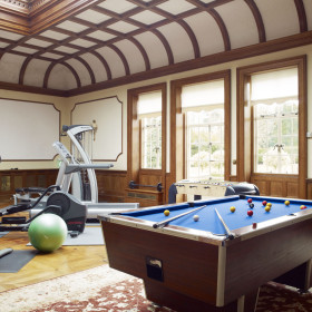 Living Spaces and Gym