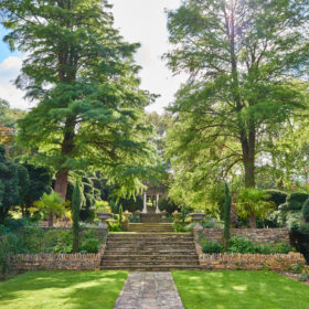 Pool, gardens and grounds